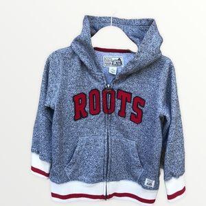Roots Kids Full Zip Varsity Lettering Sweatshirt 4